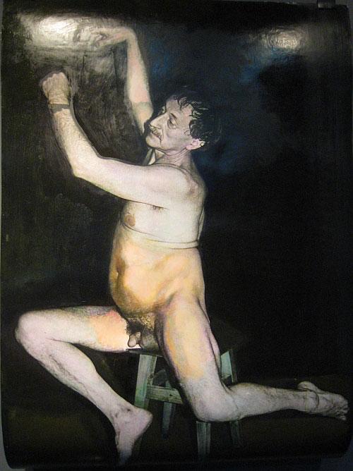 голая художница фото
