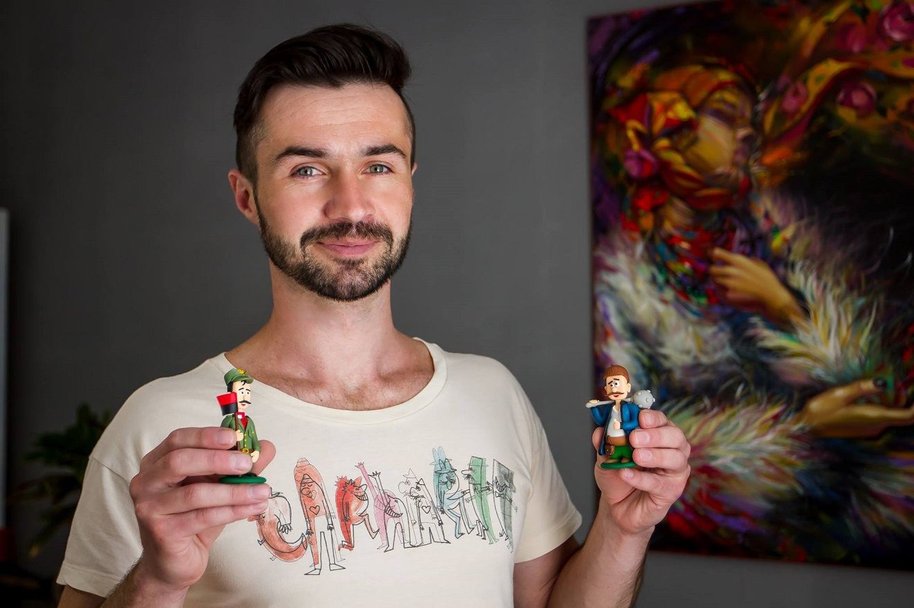 Унікальні іграшки франківця набирають популярності не тільки в Україні, а й за її межами (відеосюжет)