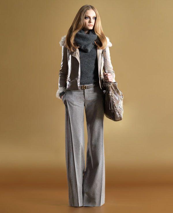 Lookbook осенней коллекции 2011 года от Gucci закрепляет многие тренды, рас