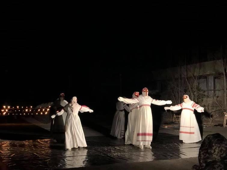 У Прип'яті провели нічну акцію до роковин катастрофи в Чорнобилі. ФОТО    Українська правда _Життя