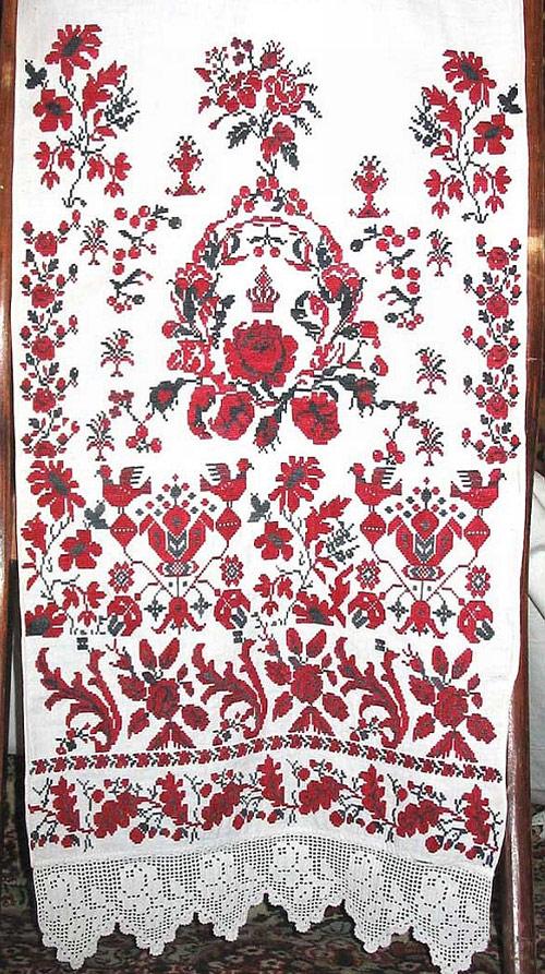 Правила вишивання весільного рушника власними руками 15450b7f08b9b