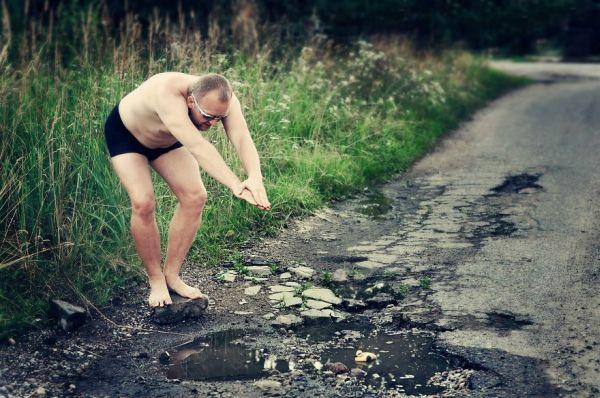 Литовці створили креативний фотопроект проти поганих доріг 1