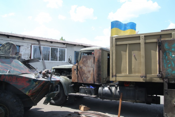 """Боевики засветили """"мусоровоз с минометом"""", из которого уже полгода обстреливают жилые кварталы Донецка и Макеевки - Цензор.НЕТ 4136"""